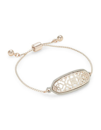 Expression Oval Filigree Pull Clasp Bracelet-ASSORTED-One Size