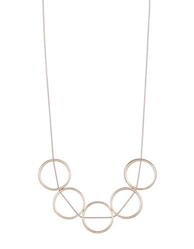Expression Five Ring Necklace-ASSORTED-One Size