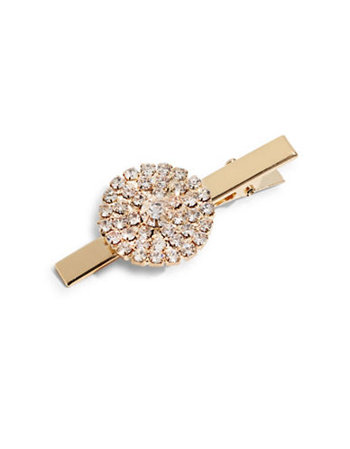 Expression Pave Disc Clip-GOLD-One Size