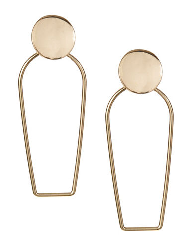 Design Lab Lord & Taylor Goldtone Dangle Bar Earrings-ASSORTED-One Size