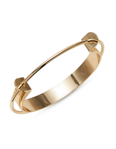 Design Lab Lord & Taylor Goldtone Two-Layer Cuff-GOLD-One Size