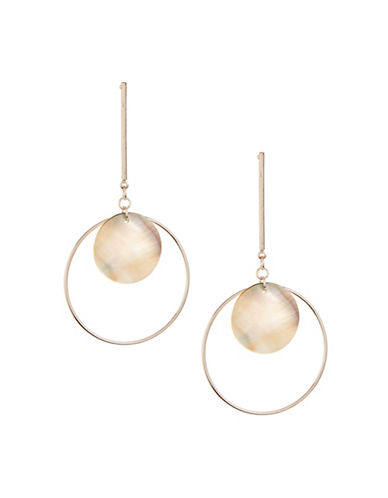 Design Lab Lord & Taylor Round Drop Earrings-ASSORTED-One Size