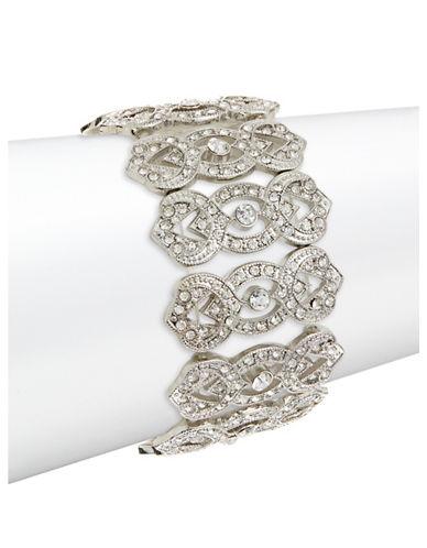Expression Stretch Stone Bracelet-SILVER-One Size