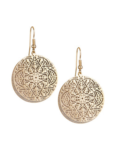 Expression Twisted Large Drop Earrings-SILVER-One Size