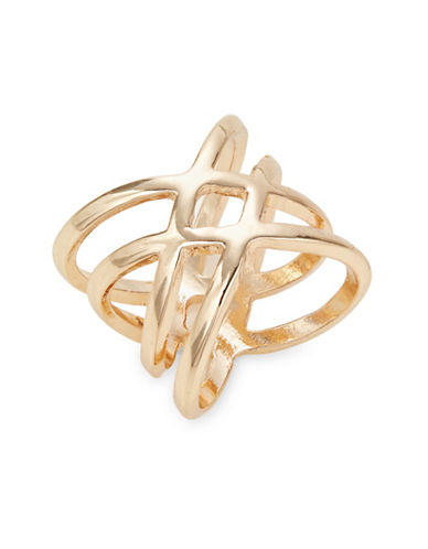 Expression Entwined Wrap Ring-GOLD-9