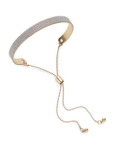 Expression Glitter Slider Bracelet-SILVER-One Size