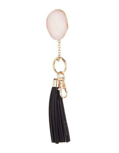 Expression Tassel Key Chain-BLACK-One Size
