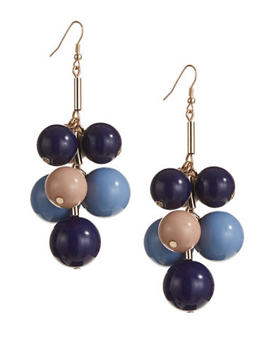 Expression Multi-Size Ball on Post Drop Earrings-ASSORTED-One Size