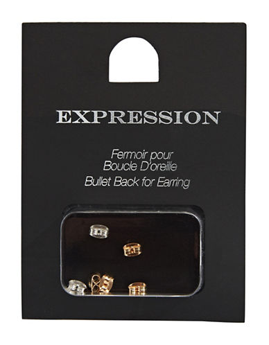 Expression Butterfly Bullet Earring Back Kit-ASSORTED-One Size