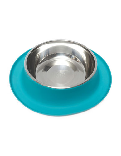 Messy Mutts Extra Large Pet Feeder-BLUE-XLarge