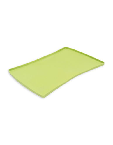 Messy Mutts Silicone Pet Food Mat-GREEN-One Size