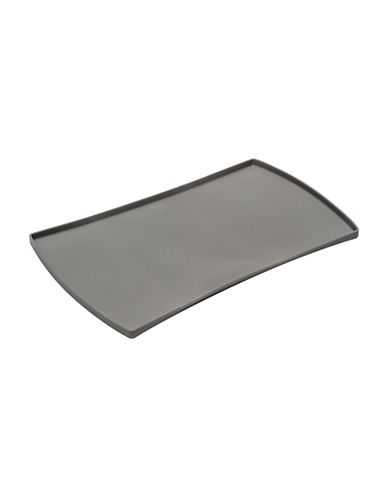 Messy Mutts Silicone Pet Food Mat-GREY-One Size