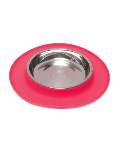 Messy Mutts Medium Pet Feeder-RED-Medium