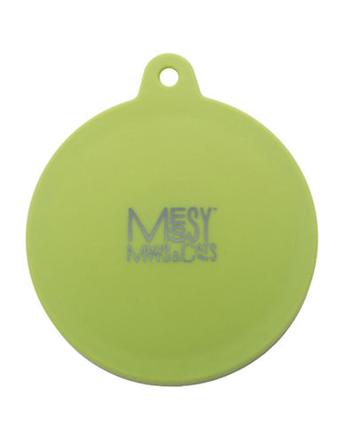 Messy Mutts Universal Pet Food Can Cover-GREEN-One Size