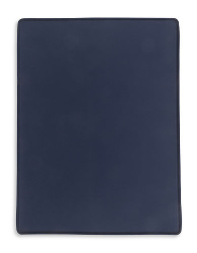 Totally Pooched Silicone Dog Food Mat-NAVY-One Size