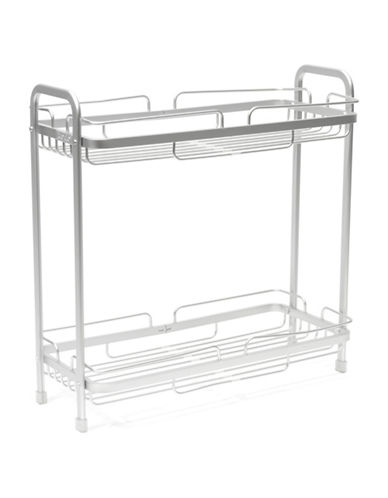 Ta Da Two-Tiered Stainless Steel Counter Stand-STAINLESS STEEL-One Size