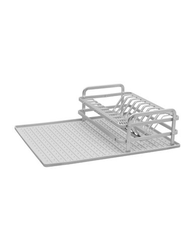 Ta Da Drysmart Compact Dish Rack-LIGHT GREY-One Size