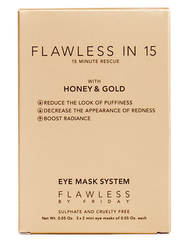 Flawless By Friday Flawless in 15 Eye Masks-NO COLOUR-0