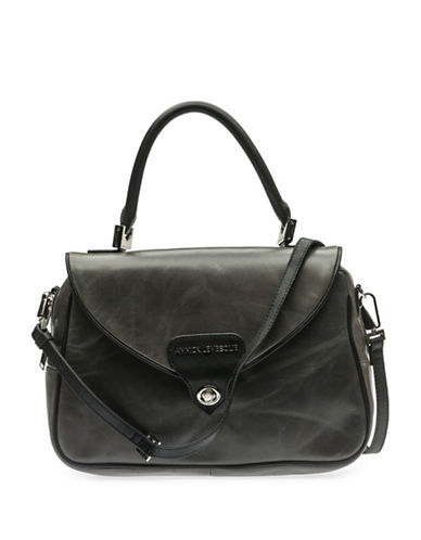 Annick Levesque Sandy Satchel Bag-GREY-One Size