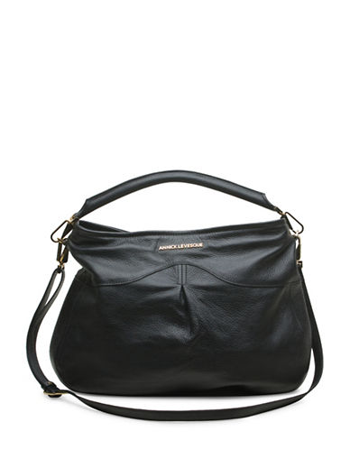Annick Levesque Delia Shoulder Bag-BLACK-One Size