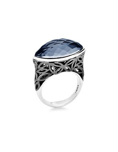 Hera Raya Marquise Silver Ring-SILVER-7