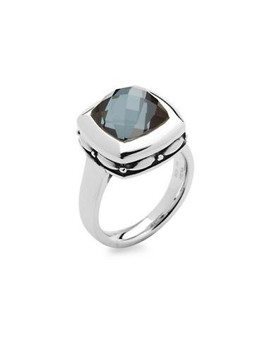 Hera Zoe Gemstone Ring-SILVER-7