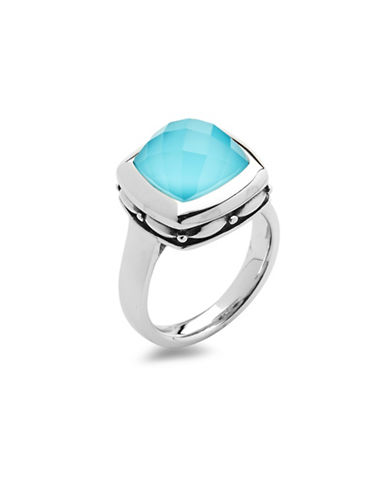 Hera Zoe Gemstone Ring-SILVER-7