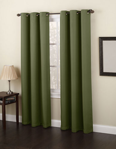 Home Studio Monterey 63-Inch Curtain Panel-WILLOW-63 inches
