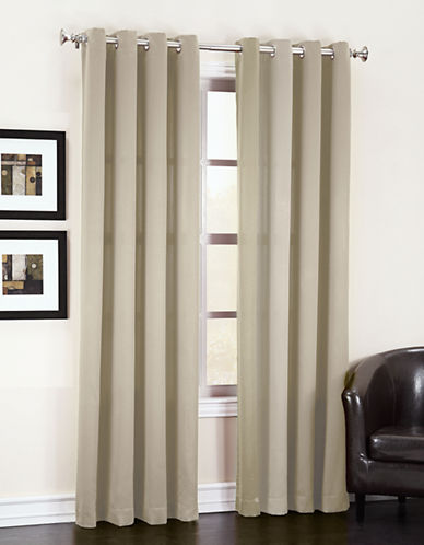 Home Studio Madison Room Darkening 63-Inch Curtain Panel-GREY-One Size