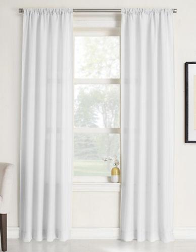 Home Studio Rapture Window Panels-WHITE-84 inches