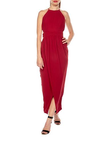 Tfnc Serene Cut-Out Maxi Dress-RED-Medium