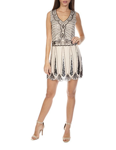 Tfnc Stacey Shift Dress-CREAM-Medium