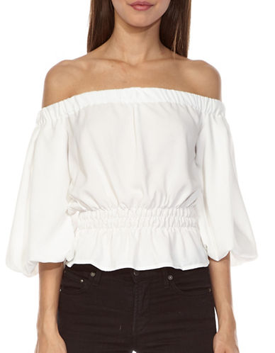 Tfnc Off-The-Shoulder Top-WHITE-Medium 89252631_WHITE_Medium