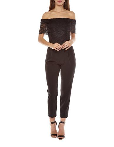 Tfnc Kimberly Jumpsuit-BLACK-X-Small