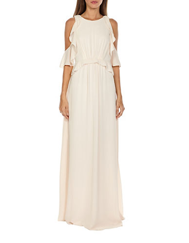 Tfnc Soledo Maxi Dress-NUDE-Medium