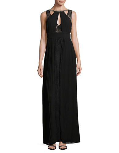 Tfnc Naly Floor-Length Dress-BLACK-X-Small