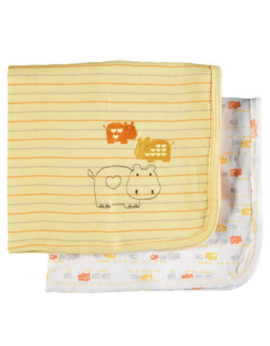 PETIT LEM 2 Pack Blankets yellow
