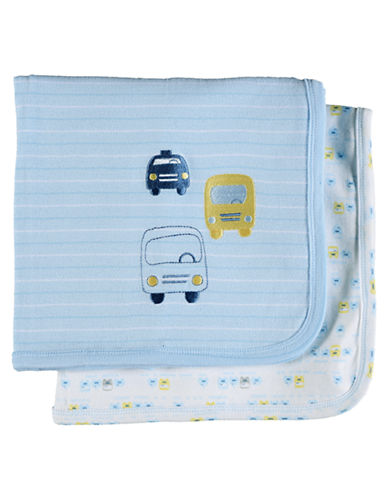 PETIT LEM 2 Pack Blankets light blue