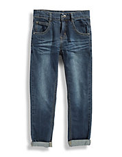 PETIT LEM Cuffed Button Pocket Jeans