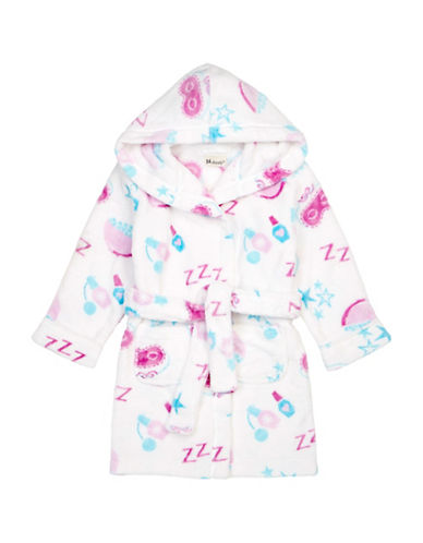 Petit Lem Slumber Party Hooded Robe-WHITE-10