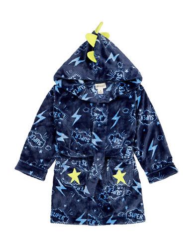 Petit Lem Super Dino Hooded Robe-BLUE-3