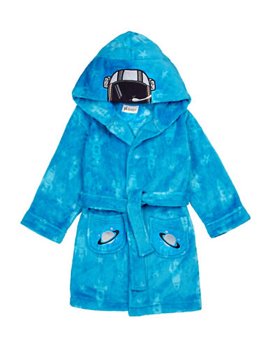 Petit Lem Space Themed Robe-BLUE-14