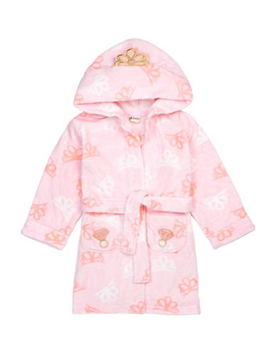 Petit Lem Princess Themed Robe-PINK-3
