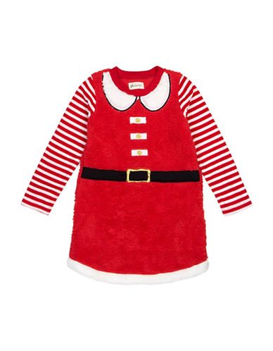 Petit Lem Santa Nightgown-RED-5