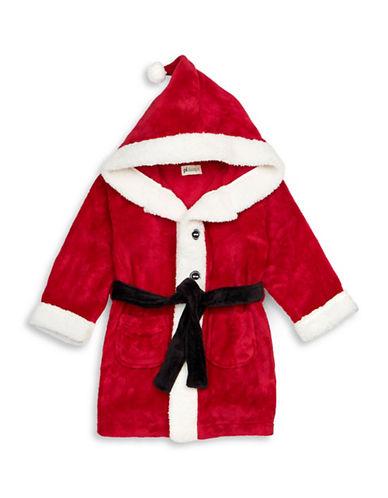 Petit Lem Santa Hooded Robe-RED-4