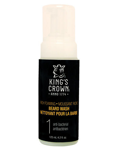 Kings Crown Anti-Bacterial Beard Wash-NO COLOUR-0