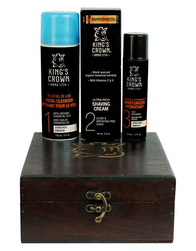Kings Crown Delux Skin Care Four-Piece Set-NO COLOUR-0
