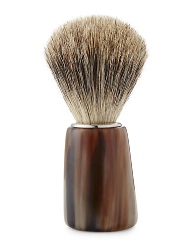 Kings Crown Ox Horn Badger Brush-NO COLOUR-0