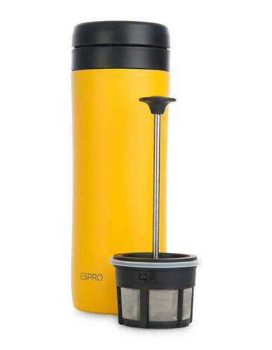 Espro Stainless Steel Travel Coffee Press-YELLOW-12