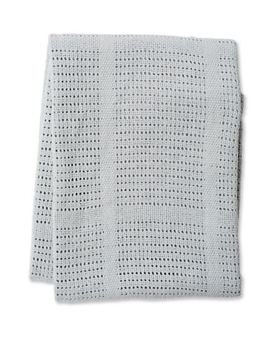 Lulujo Cellular Baby Blanket-GREY-One Size